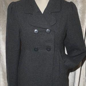 CoffeeShop Wool/Polyester Coat Sz M